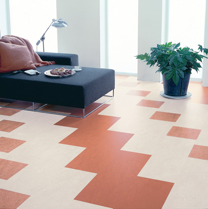 Pavimento in linoleum Materiale naturale Ticino Forbo