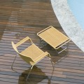 Pavimento esterno decking legno piscina