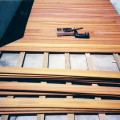 Posa pavimento esterno decking