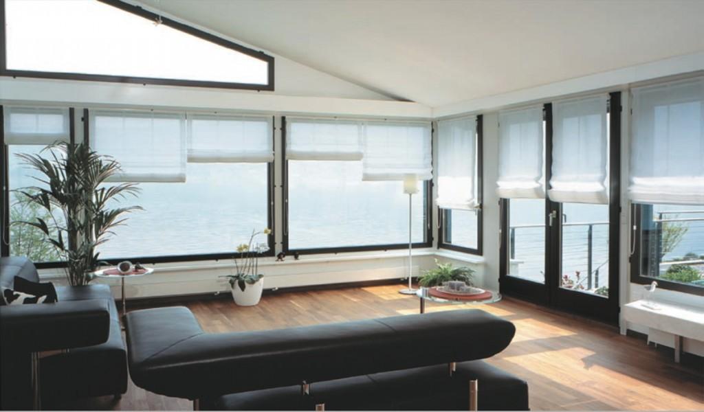 Tende per interni moderne design perfect bastone per tende con castoni with tende per interni - Tende a pacchetto moderne per bagno ...