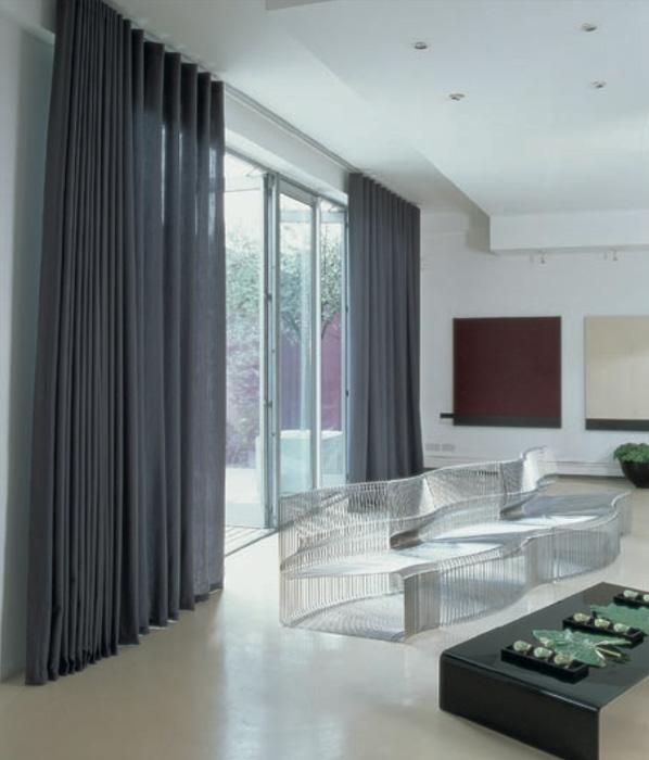 Tende wave scure silent gliss h ssig arredamenti interni - Tende interni design ...