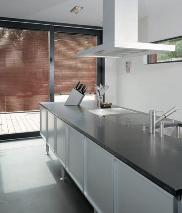 horizontaljalousien silent gliss k che h ssig. Black Bedroom Furniture Sets. Home Design Ideas