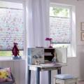Tenda plissé a fiori Luxaflex camera dei bambini