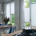 Tende plissé bianche Luxaflex cucina